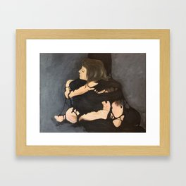I love you, but you need to go Framed Art Print