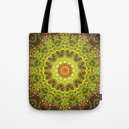 Dimensional Transition Mandala Tote Bag
