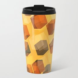 transparent cubes Travel Mug