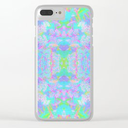 Abstract 064 Clear iPhone Case