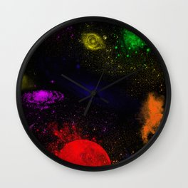 Boundless Space Collection Wall Clock