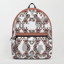 Giraffe Pattern Backpack