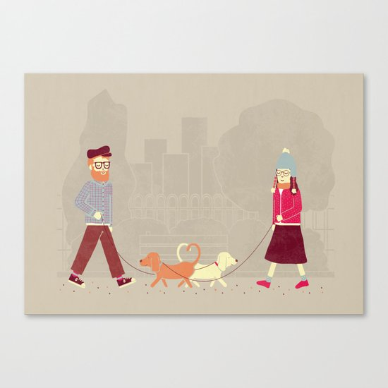 Dog People Canvas Print