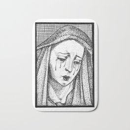 Crying Virgin Bath Mat