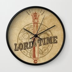 Steampunk Sonic Screwdriver Wall Clock