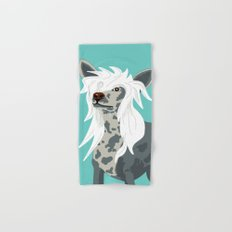 Chinese Crested Hand & Bath Towel