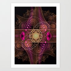 Abstract  Fractal 136    Art Print