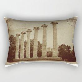 Old Postcard--Mizzou Rectangular Pillow