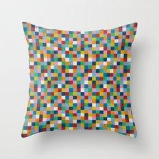 Colour Block Throw Pillow