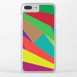 Geometric No. 16 Clear iPhone Case