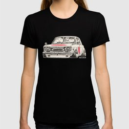 Crazy Car Art 0173 T-shirt