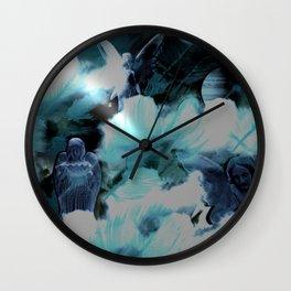 Angel Prayers Wall Clock