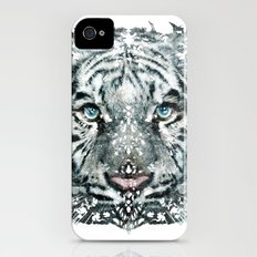 The White Tiger (Classic Version) iPhone (4, 4s) Slim Case
