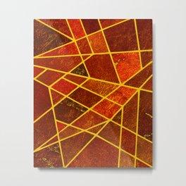 Abstract #987 Ferrini Metal Print