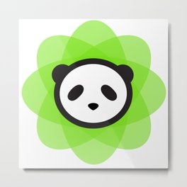 the atomik panda Metal Print