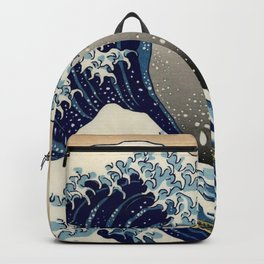 The Great Wave off Kanagawa Hokusai Backpack