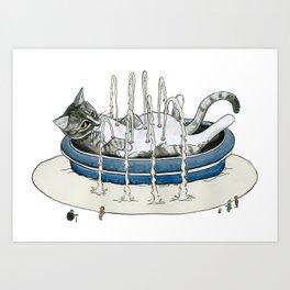Charlie Fountain Art Print