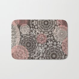 HAPPY GO LUCKY - BOHO WOOD Bath Mat