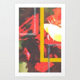 Taped Up Art Print