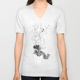 Dreaming Of Another Land Unisex V-Neck