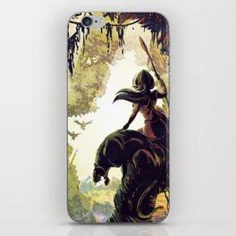 Amazon Queen iPhone Skin