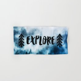 Explore! Hand & Bath Towel
