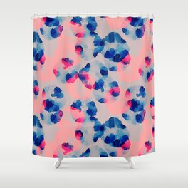 Abstract watercolor flowers Shower Curtain