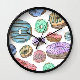 Mmm, Donuts Wall Clock