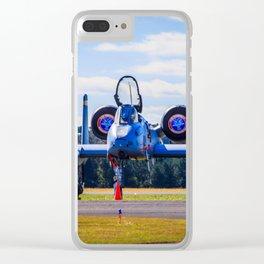 A-10C Thunderbolt Ready To Go Clear iPhone Case