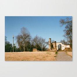 capitol park ruins Canvas Print