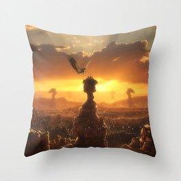 Eagle's Peak Throw Pillow