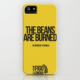 SA VRUSCIAT A FAGIOLA iPhone Case