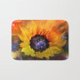Sunflowers Art Bath Mat