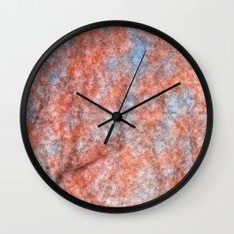 Velvet Cherry Blossom Dream Wall Clock