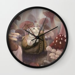 The adventures of Mouse and Snail Wall Clock