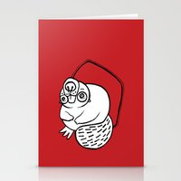 beaver Stationery Cards featuring Beaver by JuPON