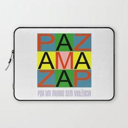 Against violence Laptop Sleeve