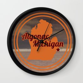 Algonac Wall Clock