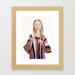 GIRL III Framed Art Print