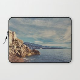 A Monaco View of the French Riviera Laptop Sleeve