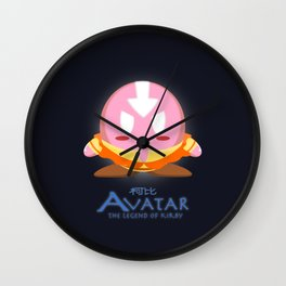 Avatar Kirby Wall Clock