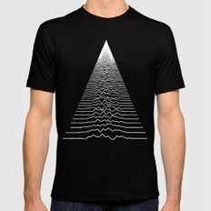 Wave Form Mens Fitted Tee Black LARGE