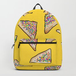Fairy Bread in Yellow, Aussie 90s birthday party Backpack