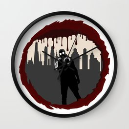 Zombie Control (Shooter) Wall Clock
