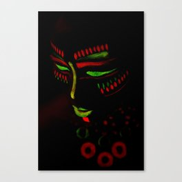 Indiano Tribal Canvas Print