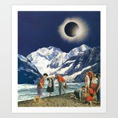 Cosmic Vibrations Art Print