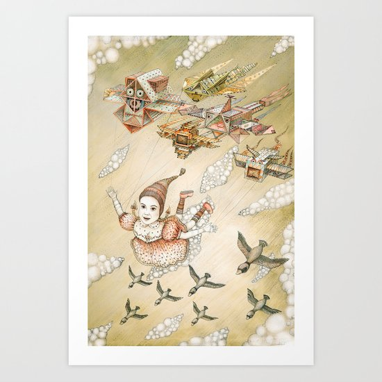 Dream of Flying Art Print