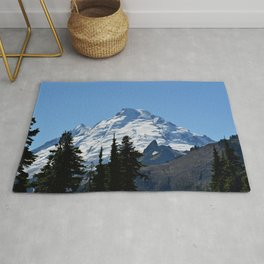 Snow Cap on the Mountain Rug