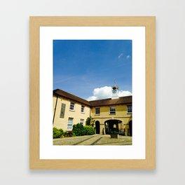 Oxford Clocktower Framed Art Print