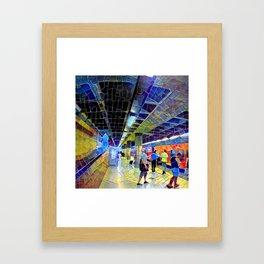 Itis Subway Station Framed Art Print